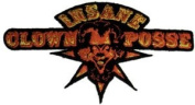 Insane Clown Posse ICP Rock Music Band Novelty Iron On Patch - Star Spike Jester Applique
