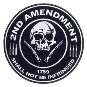 2nd Amendment Skull 1789 Small Patch