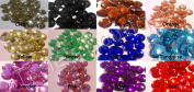 (100) 22mm Assorted Colourful Rhinestones