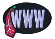 "William Wadsworth ""Bill"" Wirtz Chicago Blackhawks Memorial WWW Jersey Patch"