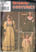Simplicity Costumes Pattern 8192