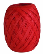 The Gift Wrap Company Raffia Egg, Macintosh Burnt Orange