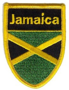 7cm Jamaica World Cup Soccer Flag Country Patch
