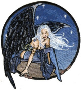 Amy Brown Artist Patch - Blue Winged Stars Dusk Fairy