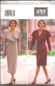 Butterick Sewing Pattern 3597 Misses' Fitted Wrap Dress, Size 12-14-16