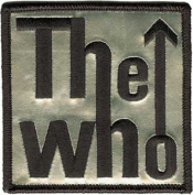 The Who Music Band - Silver Name Logo Patch
