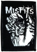 The Misfits Music Band Patch - Skull and Eyeball