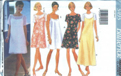 Butterick 3493 Misses' Camisole Layered Dress - Sizes 6 8 10 12