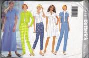 Butterick 5011 Misses' Long Dress, Top & Pants, Size 12, 14, 16