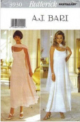 Butterick Sewing Pattern 3930 Misses' Dress & Stole, Size 6 8 10