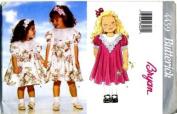 Butterick Sewing Pattern 4459 Girls' Dresses, Size 2 3 4