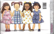 Butterick Sewing Pattern 4514 Girls' Pullover Dress, Size 5-6-6x