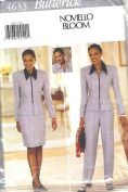 Butterick Sewing Pattern 4633 Misses' Jacket, Skirt & Pants, Size 12 14 16
