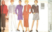 Butterick Sewing Pattern 4681 Misses'/ Misses' Petite Jacket, Skirt & Pants, Size 18 20 22