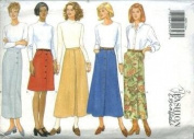 Butterick Sewing Pattern 4684 Misses' Skirt, Size 14 16 18