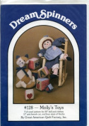Dream Spinners Molly's Toys Full Sized Pattern for 50cm Doll and Clothers