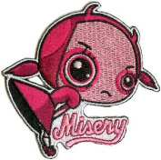 Illicit Misery Tattoo Art Patch - Crabby Bottom's Up