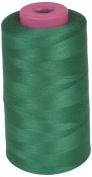 LA Linen A394 Serger Cone Thread, 6000-Yard, Emerlad Green