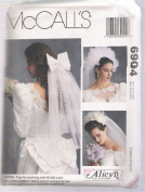 McCall's 6904 Bridal Veils