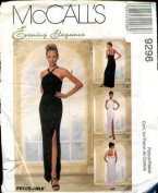 McCall's 9296 Misses' Sleeveless Lined Floor Length Dress - Size B 8 10 12