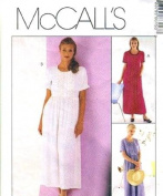 McCall's Sewing Pattern 8615 Misses' Easy-fitting Dress, Size B