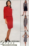 McCall's Sewing Pattern 8631 Misses' Lined Jacket, Dress & Skirt, Size G