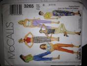Mccalls Pattern 3265 Women's Size B