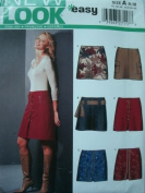 MISSES SKIRTS WITH VARIATION SIZE 8-10-12-14-16-18 EASY NEW LOOK FROM SIMPLICITY 6299