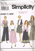 Simplicity 8670 Easy to Sew Wardrobe