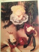 Twice as Nice Designs ~ Jingle Belly Jollies 15cm Christmas Reindeer, Angel and Elf