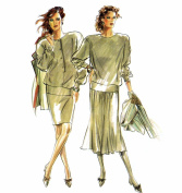 Womens Top and Skirts New Look 6010 Sewing Pattern Size 8 - 10 - 12 - 14 - 16 - 18