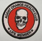 Agent Orange Health Club Vietnam Veteran Patch