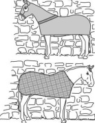 Suitability 7840 Horse Body Cover and Stretch Sheet Equestrian Sewing Pattern