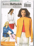 Butterick B4992 Shirt Jacket Pattern