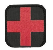 Condor 50mm Tactical hook and loop Patch - Medic