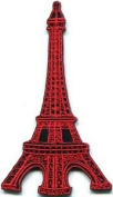 Eiffel Tower Paris France Retro Applique Iron-on Patch S-324 Cute Gift to Your Cloth.