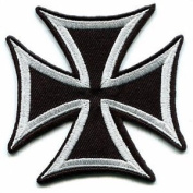 German Iron Cross Military Medal Ww2 Valour War Biker Iron-on Applique Patch S-85 Cute Gift to Your Cloth.