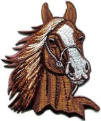Horse Colt Bronco Filly Mustang Pony Stallion Steed Applique Iron-on Patch S-352 Cute Gift to Your Cloth.