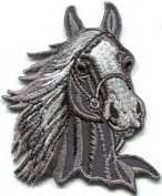 Horse Colt Bronco Filly Mustang Pony Stallion Steed Applique Iron-on Patch S-394 Cute Gift to Your Cloth.