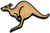 Kangaroo Australia Roo Boomer Marsupial Animal Applique Iron-on Patch New S-603 Cute Gift to Your Cloth.