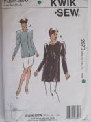 Kwik Sew Pattern 2670 Misses' Jackets Sizes XS-XL