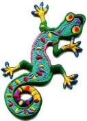 Lizard Gekko Salamander Retro Hippie Hippy Boho 70s Applique Iron-on Patch S-189 Cute Gift to Your Cloth.