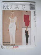 McCall's Pattern 8901 Misses' Lined Dress and Lined or Unlined Top Sizes 8-10-12