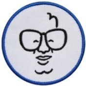 Mlb28 - MLB Baseball Chicago Cubs Harry Caray Patch Size 3x3 Inches,7.5x7.5 Cm