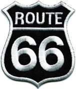 Route 66 Retro Muscle Cars 60s Americana USA Applique Iron-on Patch New S-274 Cute Gift to Your Cloth.
