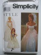 Simplicity Pattern 9163 Misses' Gown/Dress Sizes 6-16
