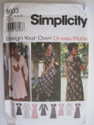 Simplicity Pattern 9603 Misses'/Miss Petite Dress Sizes 12-14-16