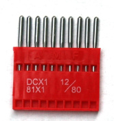 Size 70/10, 100pc Swordfish DCx1, MY1023A, 81x1 Industrial Sewing Machine Needles