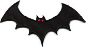 Vampire Bat Horror Biker Tattoo Sew Sewing Applique Iron-on Patch New S-698 Cute Gift to Your Cloth.