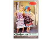 Kati Cupcake Girly Girl Top & Skirt Ptrn